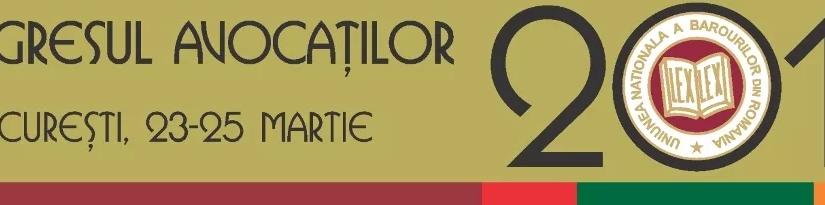 """Congresul Avocaților 2017. Probleme identificate de barouri raportat la tema Congresului """"Avocatul și accesul lajustiție"""""""